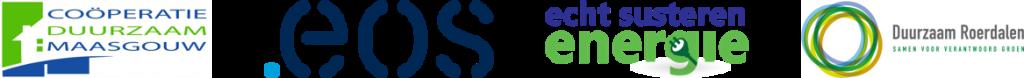 logos van de 4 coöperaties CDM-EOS-ESE-CDR