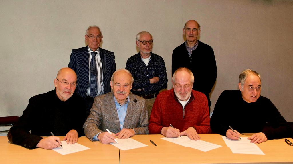 ondertekening intentieverklaring samenwerking buurcoöperaties CDM, EOS, ESE, CDR